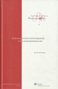 Giraal effectenverkeer en goederenrecht; een studie naar enkele goederenrechtelijke aspecten van de Wet giraal effectenverkeer. Diss.