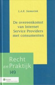 De overeenkomst van Internet Service Providers met consumenten. Diss.