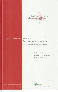 Geschiedenis van de faillissementswet; voorontwerp Insolventiewet