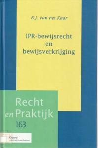 IPR-bewijsrecht en bewijsverkrijging. Diss.