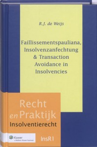 Faillissementspauliana, Insolvenzanfechtung & Transaction Avoidance in Insolvencies