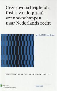 Grensoverschrijdende fusies van kapitaalvennootschappen naar Nederlands recht; een juridisch technische benadering. Diss.