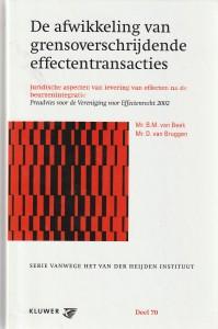 De afwikkeling van grensoverschrijdende effectentransacties; juridische aspecten van levering van effecten na de beurzenintegratie