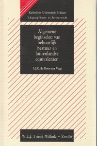 Algemene beginselen van behoorlijk bestuur en buitenlandse equivalenten; een rechtsvergelijkend onderzoek