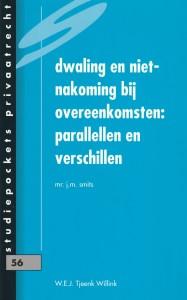 Dwaling en niet-nakoming bij overeenkomsten: parallellen en verschillen