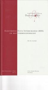 Electronic Data Interchange (EDI) en het vermogensrecht. Diss.