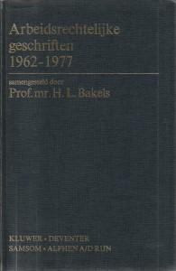 Arbeidsrechtelijke geschriften 1962-1977