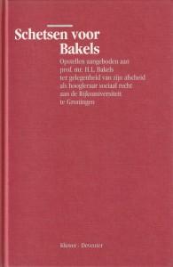 Schetsen voor Bakels - Opstellen aangeboden aan H.L. Bakels
