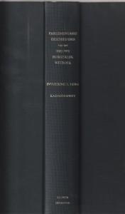 Parlementaire Geschiedenis van het Nieuwe Burgerlijk Wetboek - Invoering 3,5 en 6 / Kadasterwet