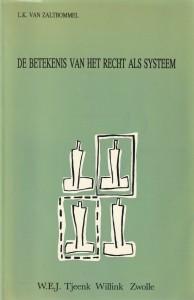De betekenis van het recht als systeem. Diss.