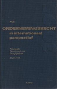 Ondernemingsrecht in internationaal perspectief