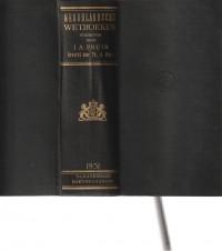 Nederlandse Wetboeken editie 1931
