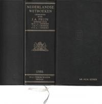 Nederlandse Wetboeken editie 1986