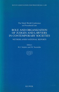 Role and Organization of Judges and Lawyers in Contemporary Societies