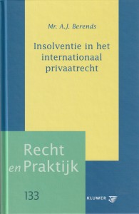 Insolventie in het internationaal privaatrecht. Diss.