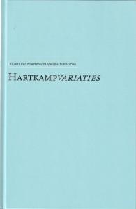 Hartkampvariaties - Opstellen aangeboden aan prof. mr. A.S. Hartkamp