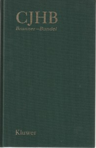 CJHB Brunner-Bundel