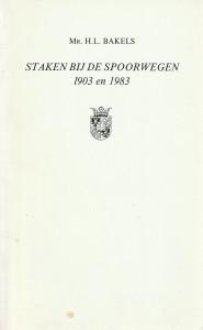 Staken bij de spoorwegen 1903 en 1983 - Rede 1987