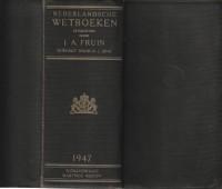 Nederlandsche Wetboeken editie 1947