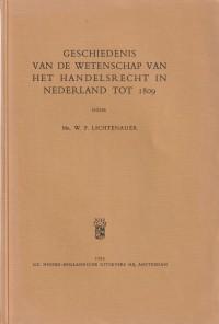 Geschiedenis van de wetenschap van het handelsrecht in Nederland tot 1809