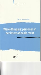 Wereldburgers: personen in het internationale recht - Rede 1995