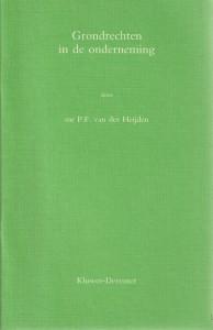 Grondrechten in de onderneming - Rede 1988