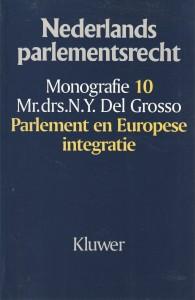 Parlement en Europese integratie. Diss.