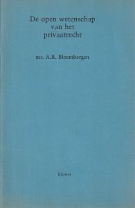 De open wetenschap van het privaatrecht - Rede 1979
