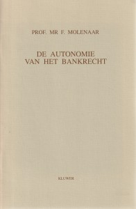De autonomie van het bankrecht