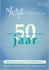 Vijftig jaar EVRM : 50 jaar Europees Verdrag voor de Rechten van de Mens 1950-2000.