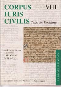 Corpus Iuris Civilis VIII: Codex Justinianus 4-8