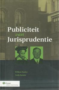 Publiciteit van Jurisprudentie