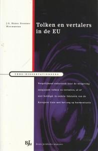 Tolken en vertalers in de EU. Diss.