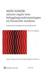 MiFID II/MiFIR: nieuwe regels voor beleggingsondern. en fin. markten