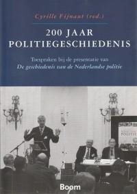 200 Jaar politiegeschiedenis