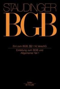 BGB Einleitung zum BGB und Allgemeiner Teil 1
