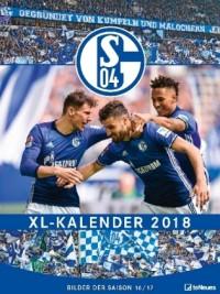 FC Schalke 04 XL Kalender 2018