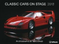 Classic Cars on Stage 64 x 48 Poster Calendar 2018