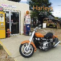 Harleys 2018 Broschürenkalender