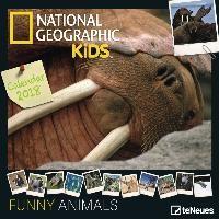 National Geographic Kids: Funny Animals 2018 Broschürenkalender