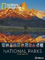National Geographic National Parks 2019 Posterkalender