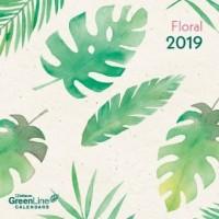 Floral 2019 GreenLine Mini-Broschürenkalender