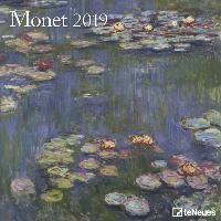 Monet 2019 Broschürenkalender