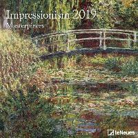 Impressionism Masterpieces 2019 Broschürenkalender