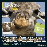 National Geographic Kids: Funny Animals 2019 Broschürenkalender