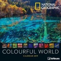 National Geographic Colourful World 2019 Broschürenkalender