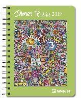 James Rizzi 2019 Buchkalender Deluxe