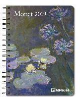 Monet 2019 Buchkalender Deluxe