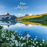 Alpen 2019 Broschürenkalender