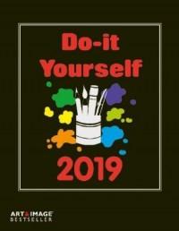 Do-it-Yourself Foto Bastelkalender 2019 groß. 4-sprachiges Kalendarium, Spiralbindung